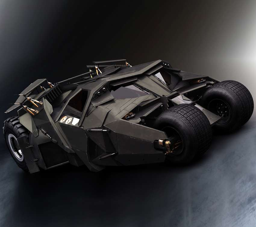 Batman Tumbler wallpaper or background
