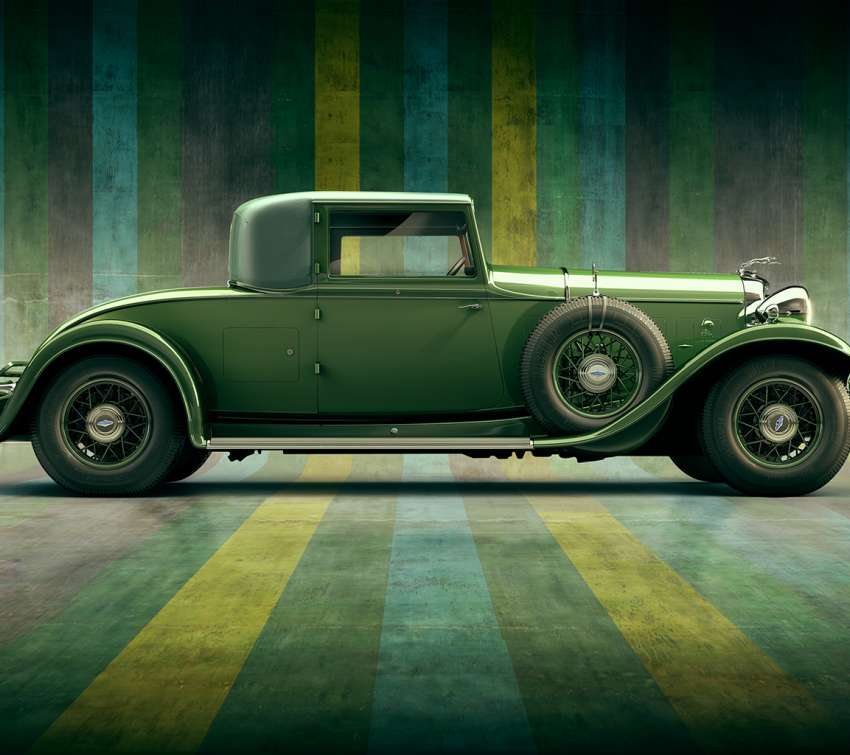 1932 Lincoln KB Coupe wallpaper or background