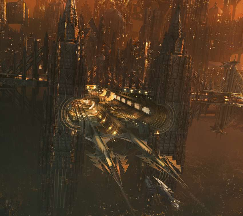 Jupiter Ascending concept art wallpaper or background
