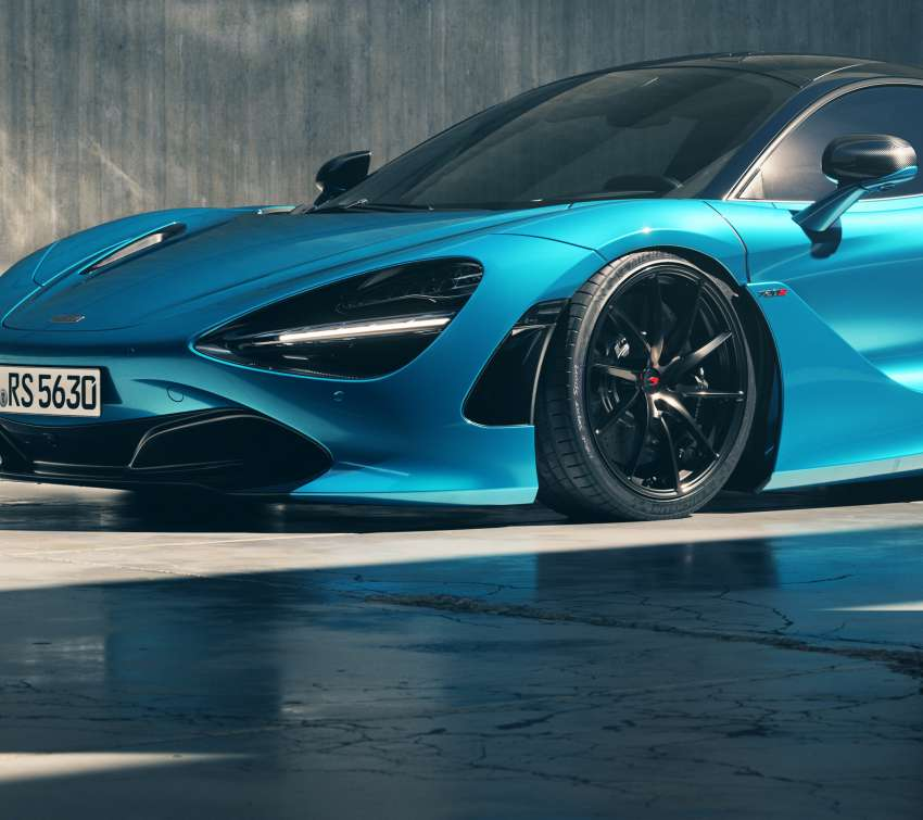 MCLAREN/720S Ludus-Blue Mobile Horizontal wallpaper