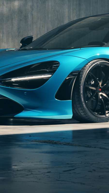 MCLAREN/720S Ludus-Blue Mobile Vertical wallpaper