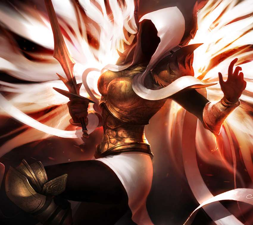 Auriel - Archangel of Hope wallpaper or background