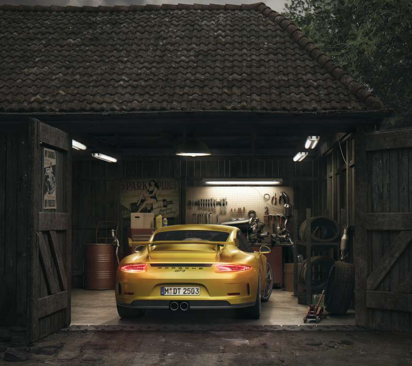 Porsche Barn wallpaper or background