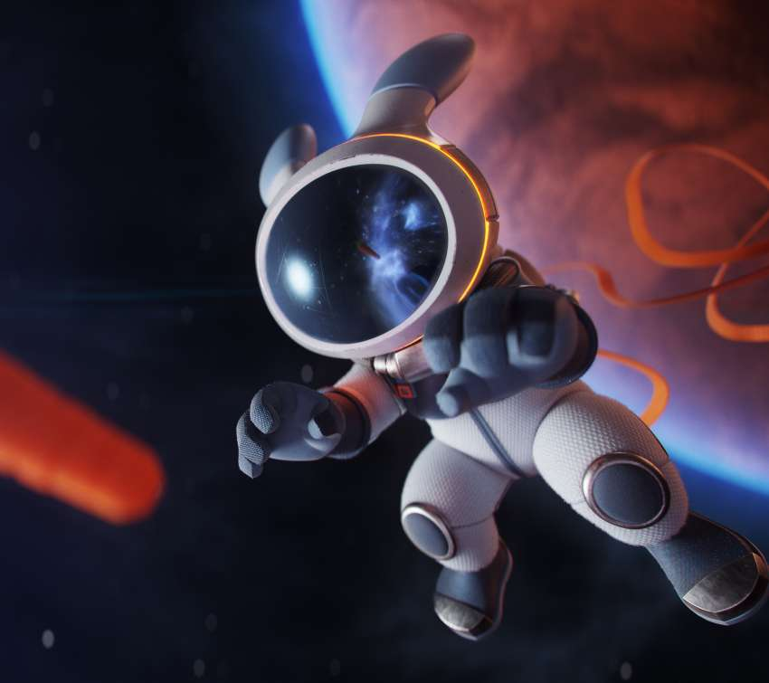 Rocket Rabbit Mobile Horizontal wallpaper