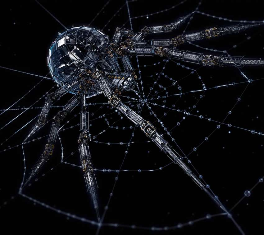 Arachnid Mech wallpaper or background