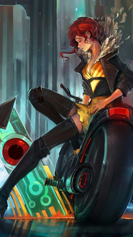 Transistor fan art Mobile Vertical wallpaper