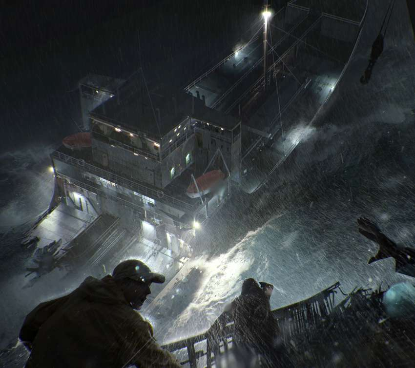 The Finest Hours concept Mobile Horizontal wallpaper