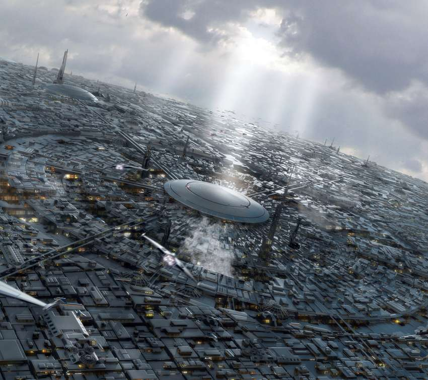 Coruscant in the Daylight wallpaper or background