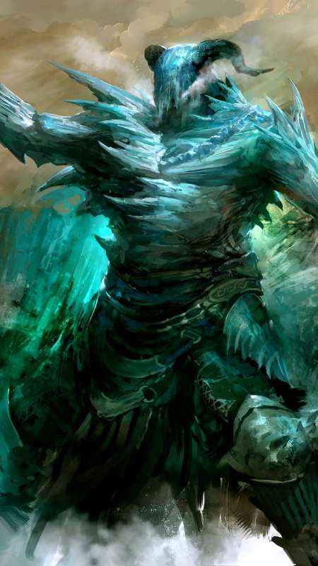 Sons of Svanir - Guild Wars 2 Mobile Vertical wallpaper