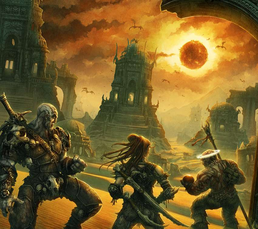 Dark Sun Dwellers wallpaper or background