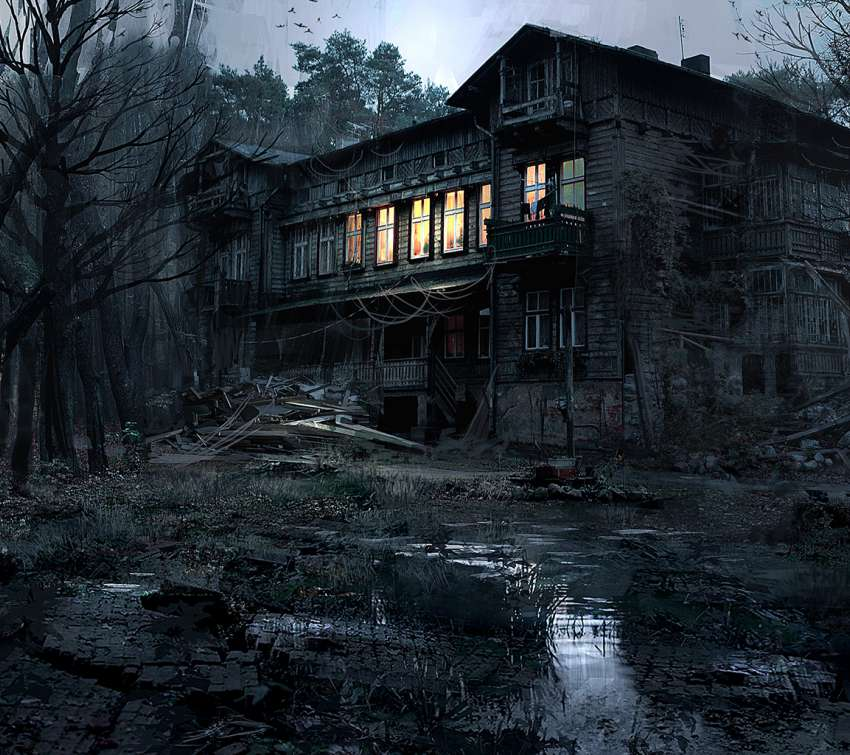 Cabin in the Woods wallpaper or background