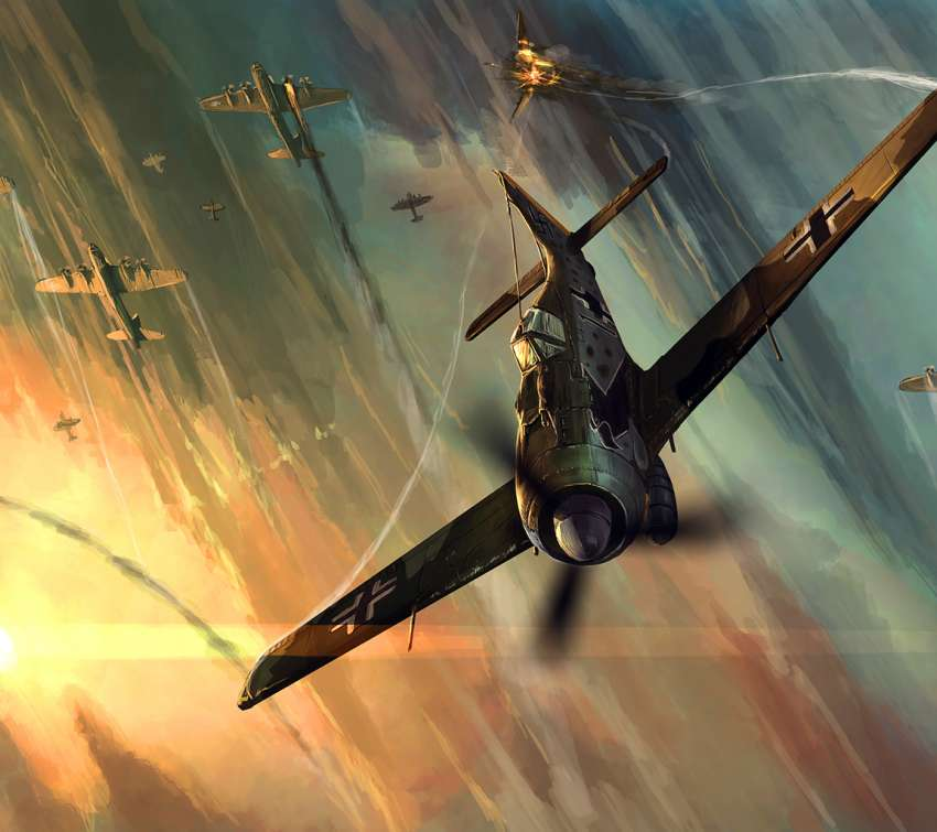 Focke Wulf FW-190 wallpaper or background