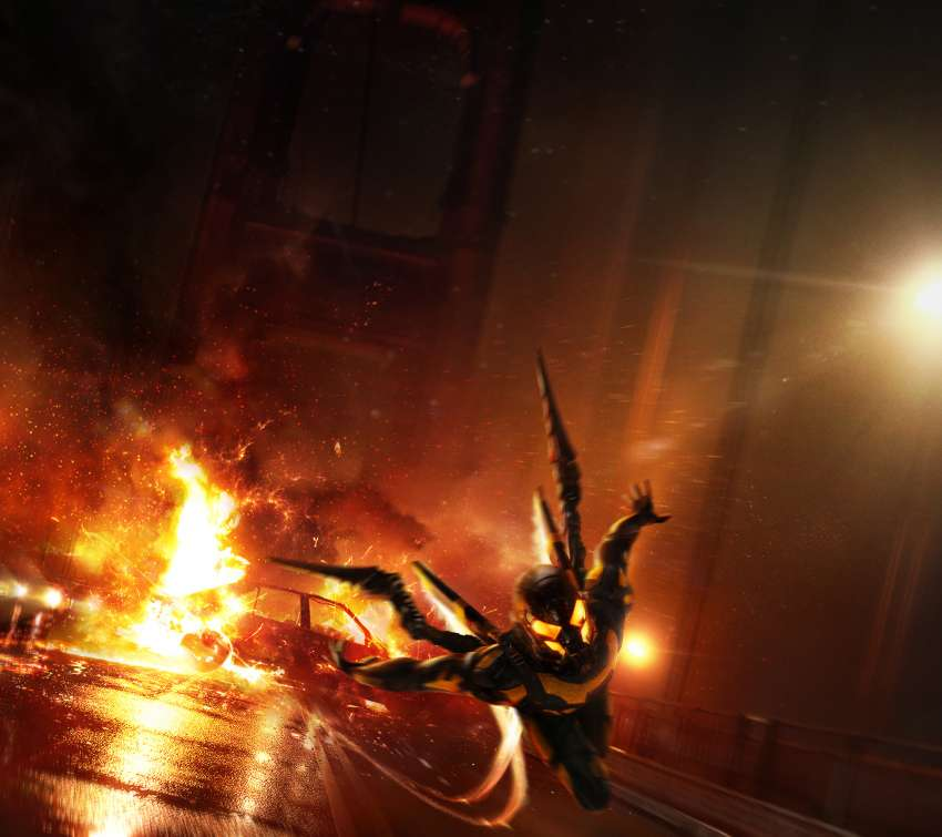 Ant-Man: YellowJacket's Sizzle-Reel, pitch concept Mobile Horizontal wallpaper