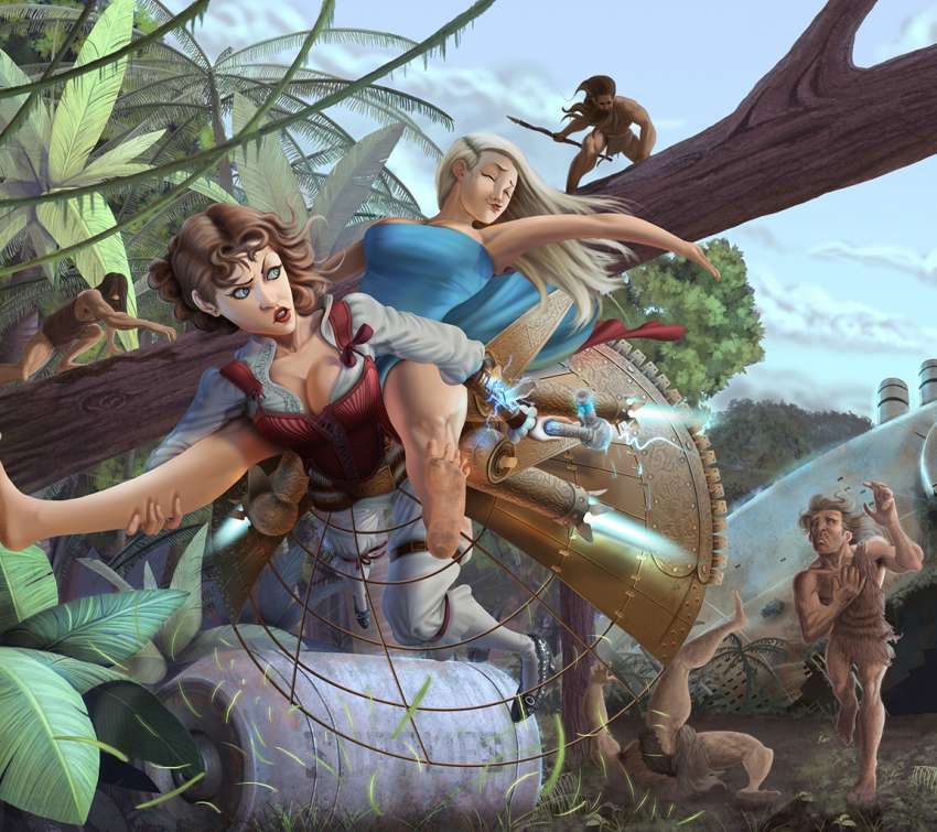 Time Travelers Guide: Stone age Rescue wallpaper or background