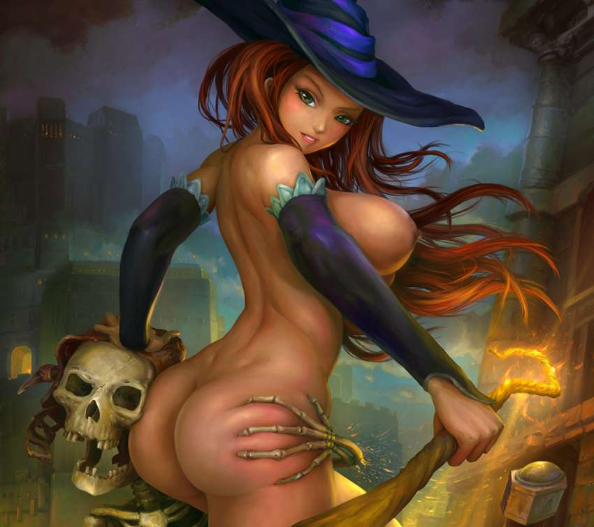 Dragons Crown: Sorceress Nude wallpaper or background