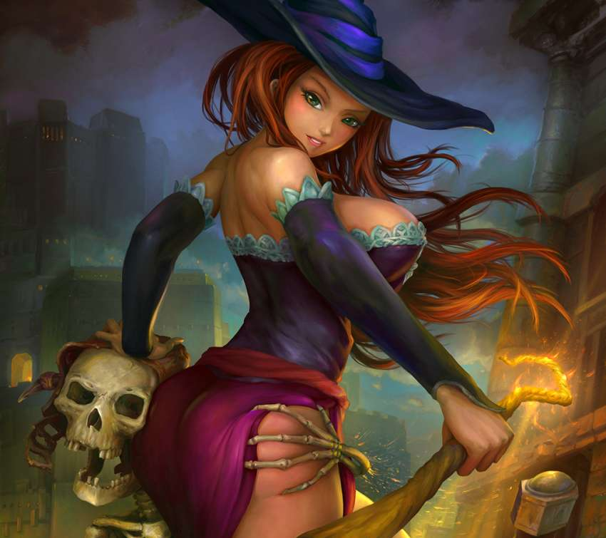 Dragons Crown: Sorceress wallpaper or background
