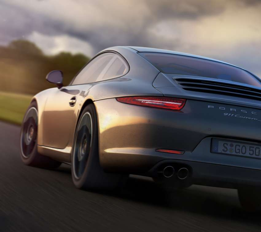 Porsche Carrera S - My new car... wallpaper or background