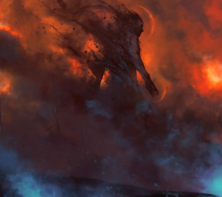Born from Ashes Mobile Horizontal wallpaper