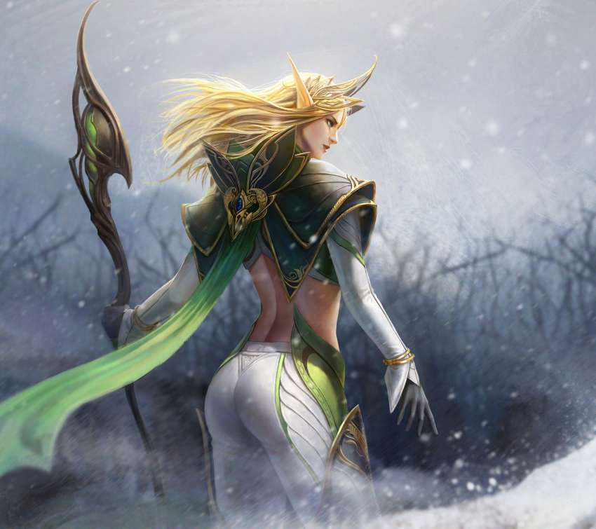 Elf Queen Mobile Horizontal wallpaper