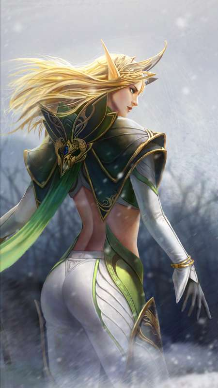Elf Queen Mobile Vertical wallpaper