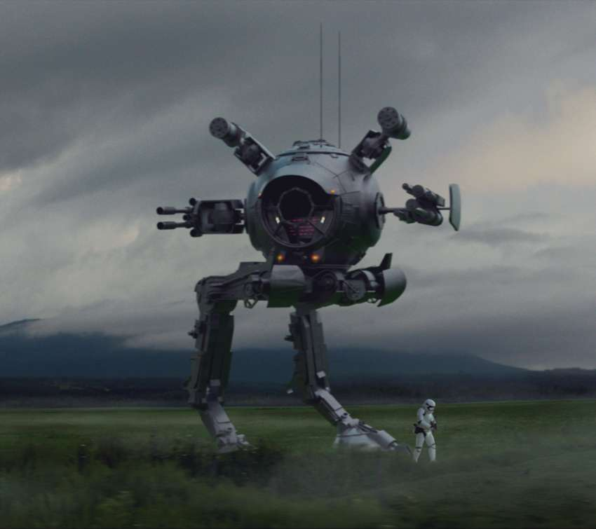 Star Wars AT-IT wallpaper or background
