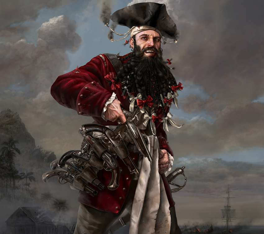 Edward Teach (Blackbeard) wallpaper or background