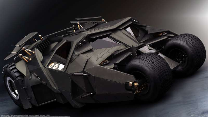 Batman Tumbler wallpaper