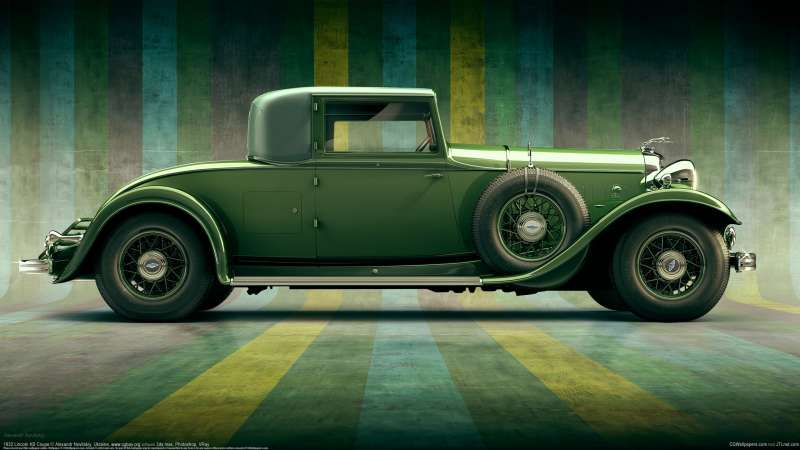 1932 Lincoln KB Coupe wallpaper