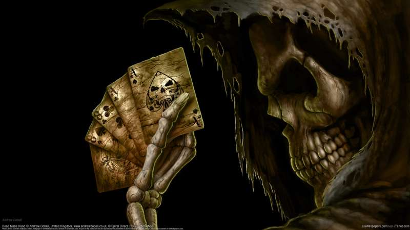 Dead Mans Hand wallpaper