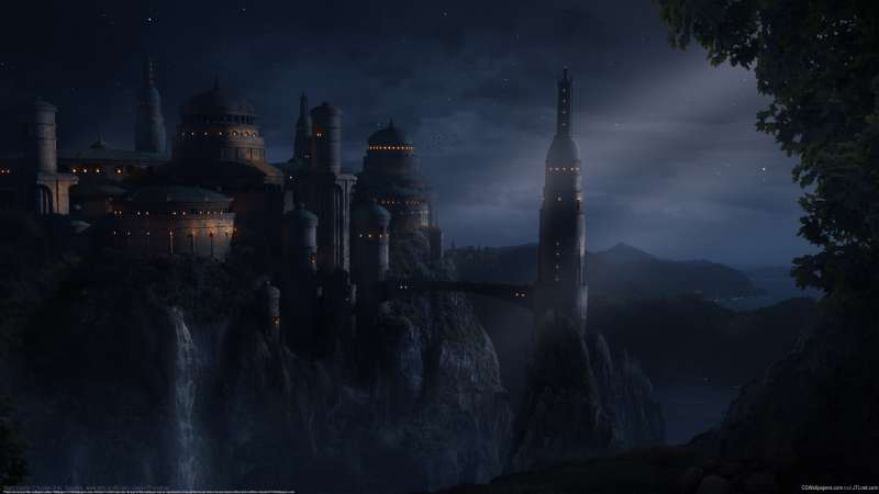 Night Castle wallpaper