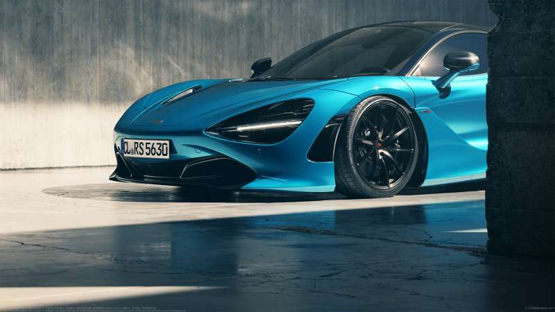 MCLAREN/720S Ludus-Blue wallpaper or background