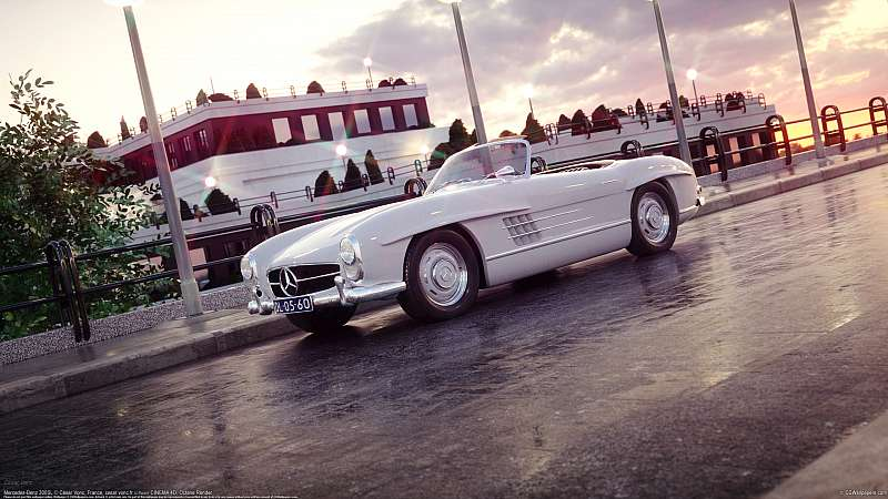 Mercedes-Benz 300SL wallpaper or background