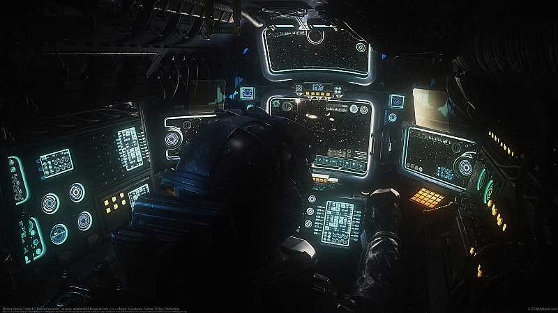Military Space Cockpit wallpaper or background