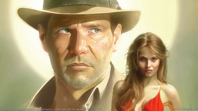 Indiana Jones and the Secrets From Beyond book cover wallpaper or background