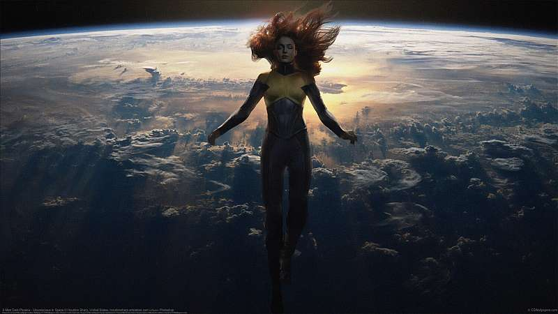 X-Men Dark Phoenix - Unconscious in Space wallpaper or background