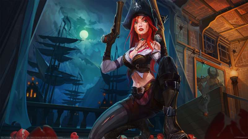 Miss Fortune fan art wallpaper or background