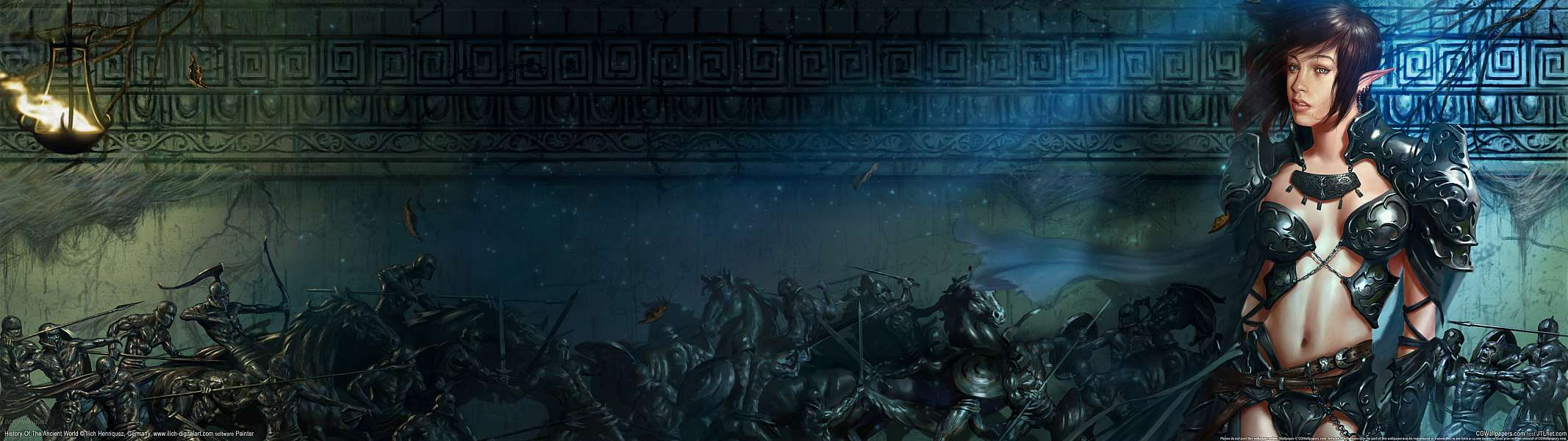 History of the Ancient World dual screen wallpaper