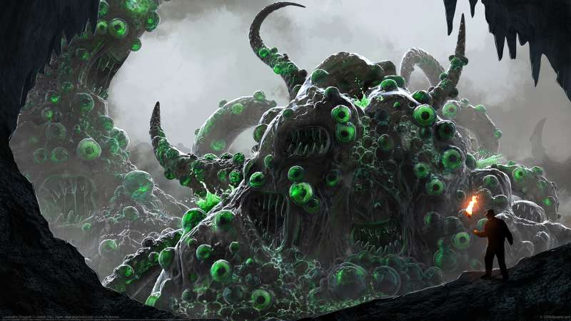 Lovecraft's Shoggoth wallpaper or background