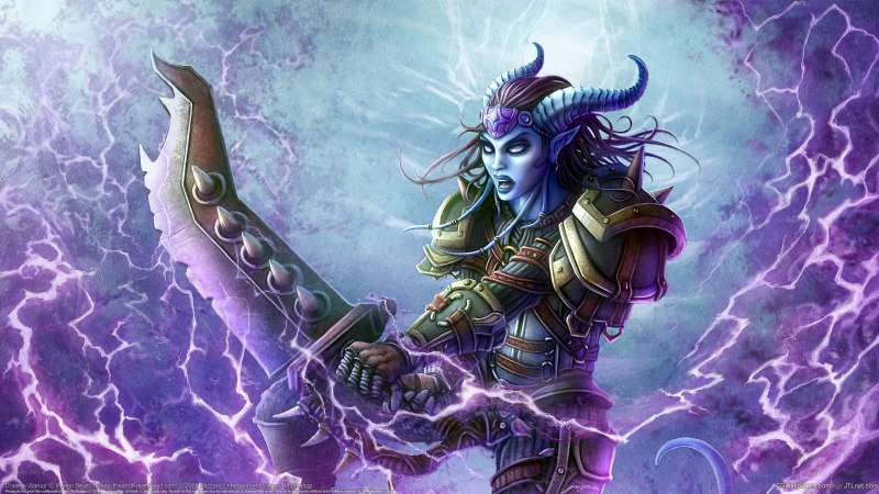 Draenei Warrior wallpaper