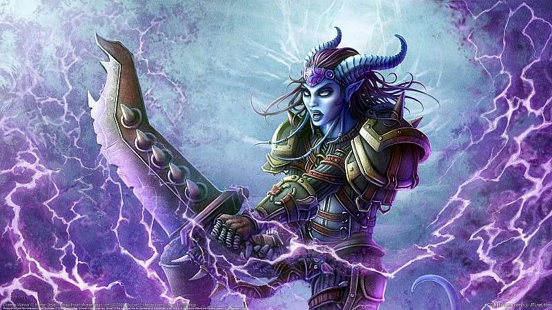 Draenei Warrior wallpaper or background