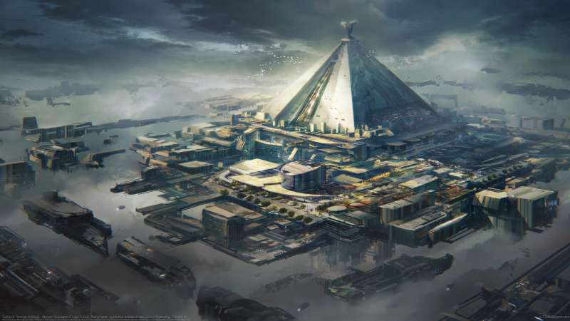 Game of Thrones redesign - Mereen Spaceport wallpaper or background