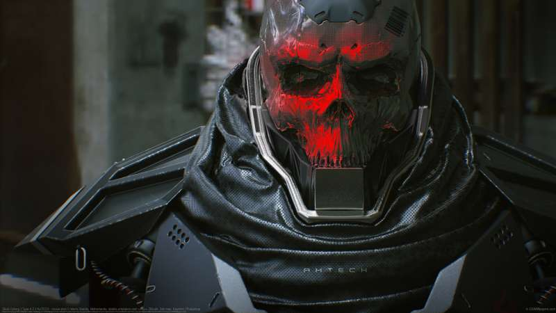 Skull Cyborg | Type 4.2 // AxTECH - movie shot wallpaper or background