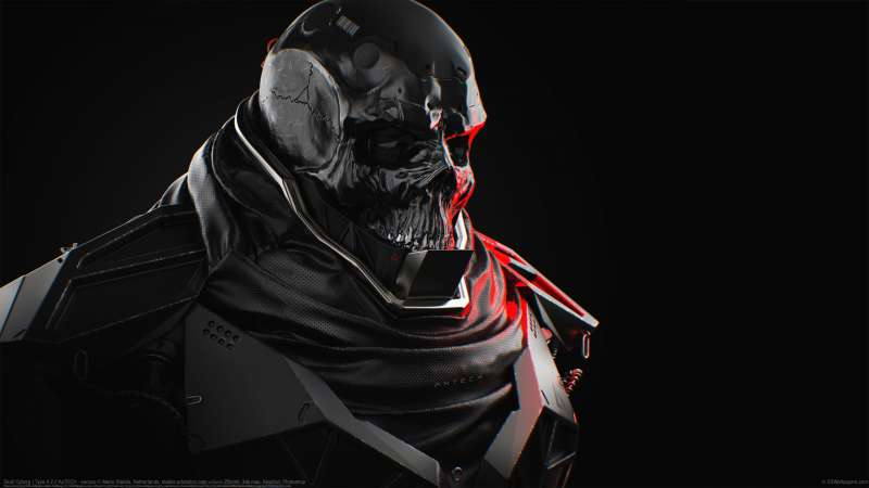 Skull Cyborg | Type 4.2 // AxTECH - serious wallpaper or background