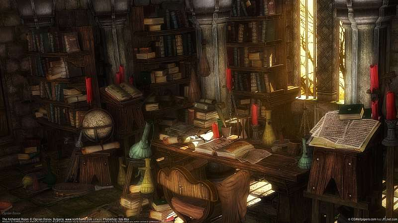 The Alchemist Room wallpaper or background