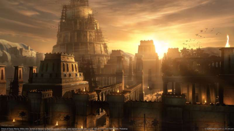 Prince of Persia Warrior Within Intro: Sunset on Babylon wallpaper or background