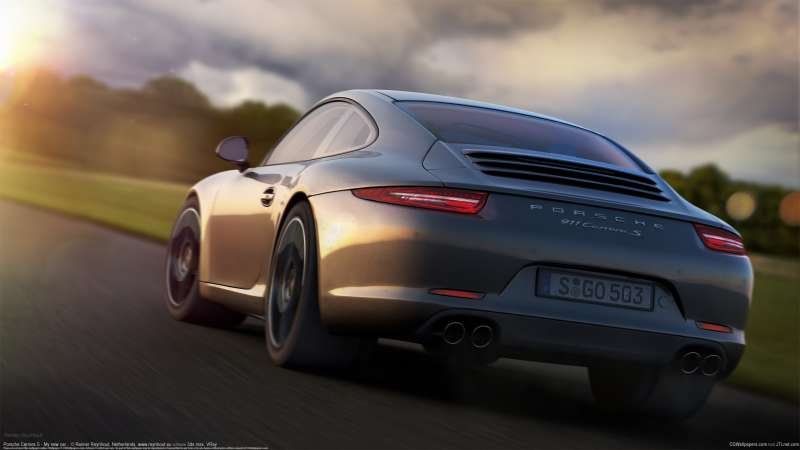 Porsche Carrera S - My new car... wallpaper