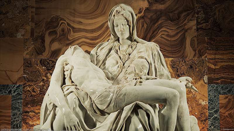 Pieta Reconstruction wallpaper or background