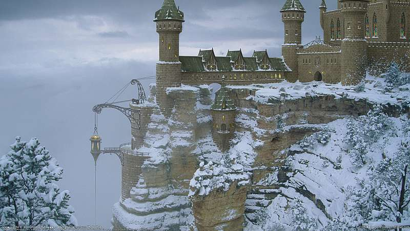 Snow Castle wallpaper or background