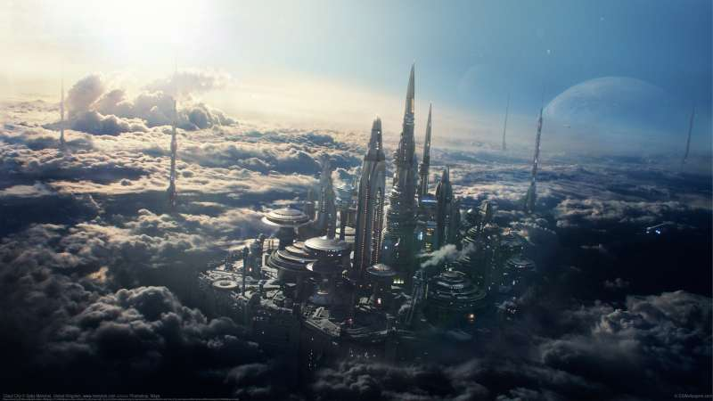 Cloud City wallpaper or background