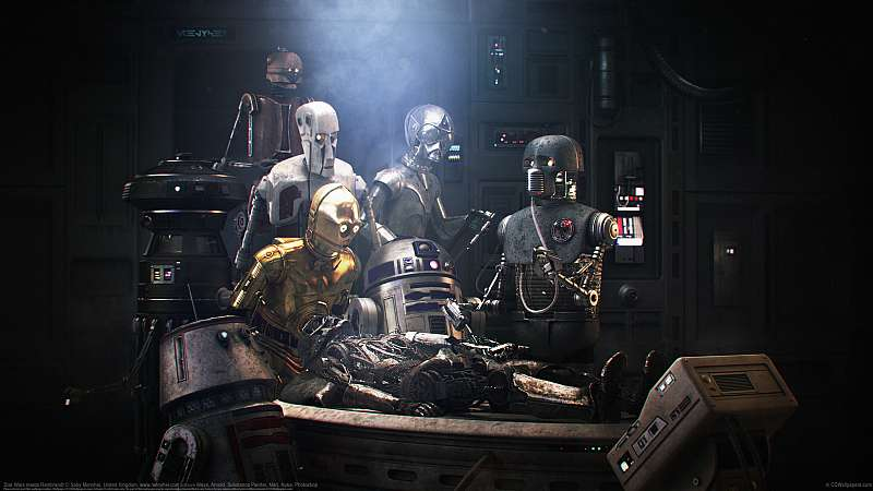 Star Wars meets Rembrandt wallpaper or background